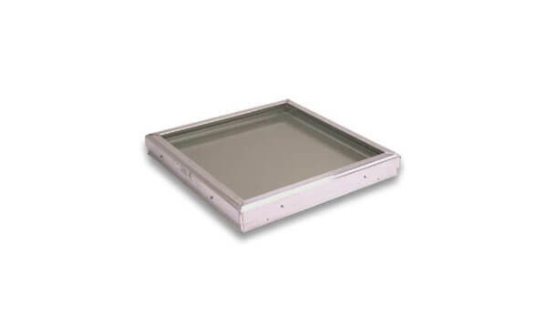 Flat Square Aluminum Curb skylight