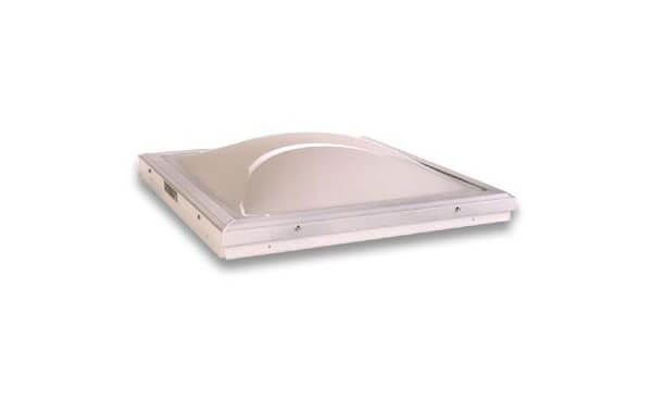 Curb Mount Domed Skylight Mill Finish