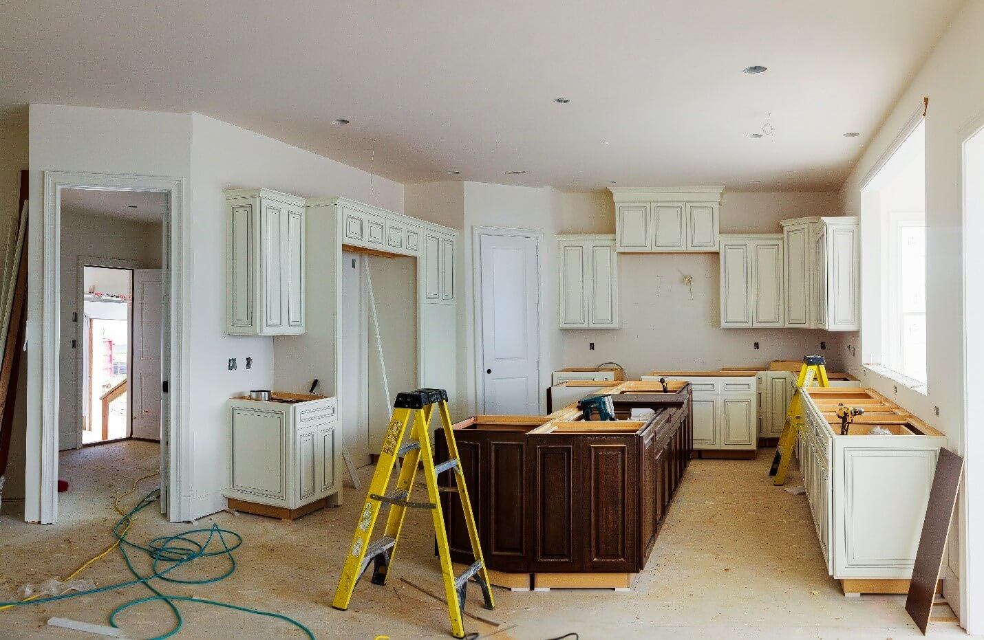 At home kitchen remodel