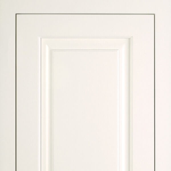 Brunswick white cabinet door