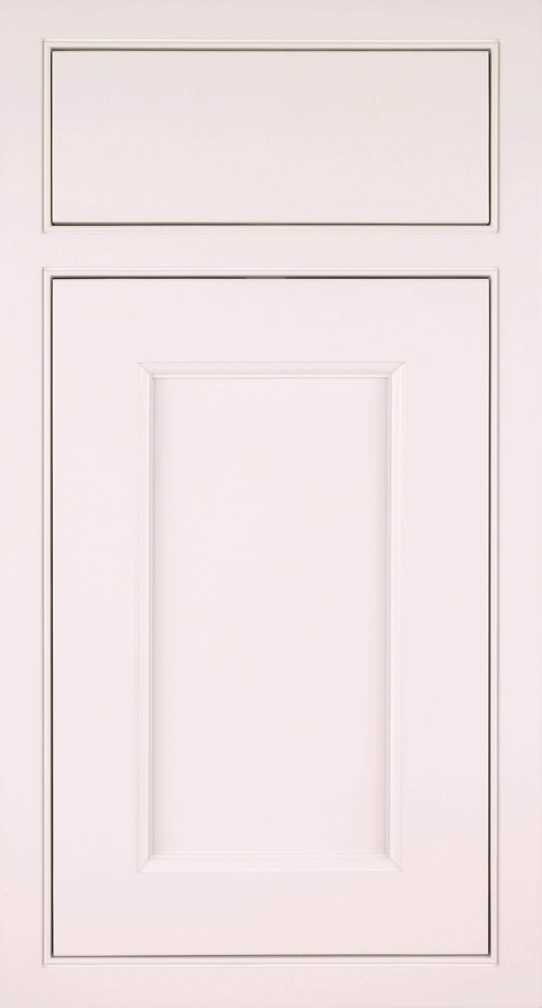 Hudson chalk white cabinet door